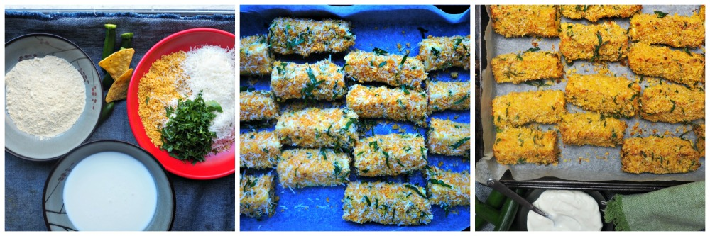 Zucchini in Corn Chips