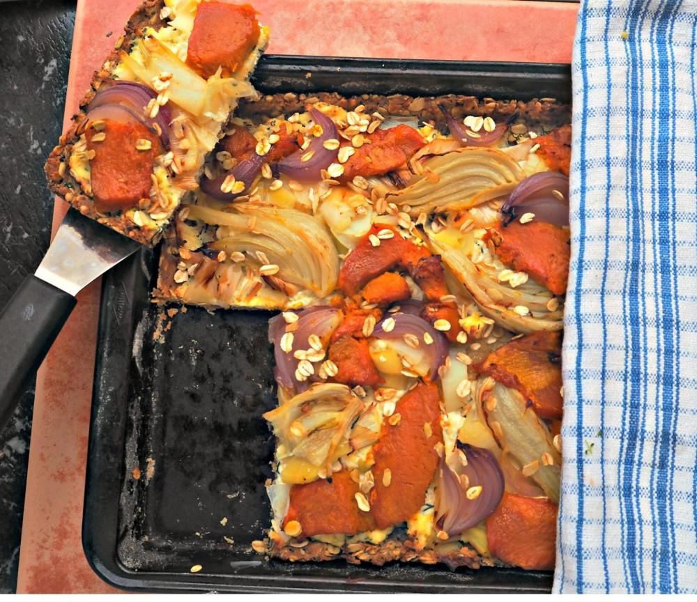 Autumn Veg tart 11