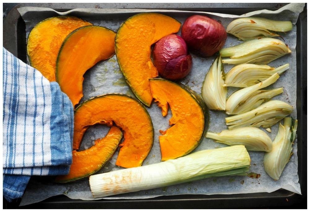 Autumn Veg tart 6
