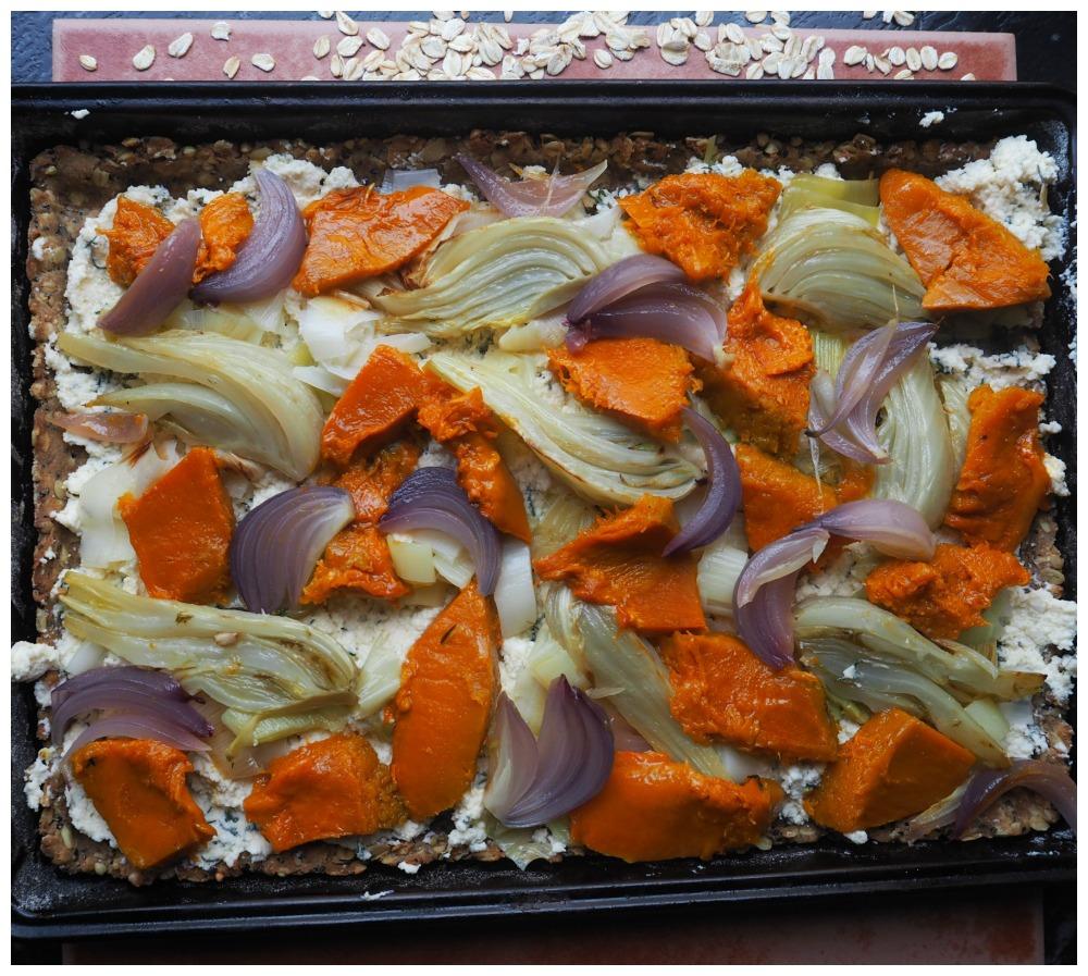 Autumn Veg tart
