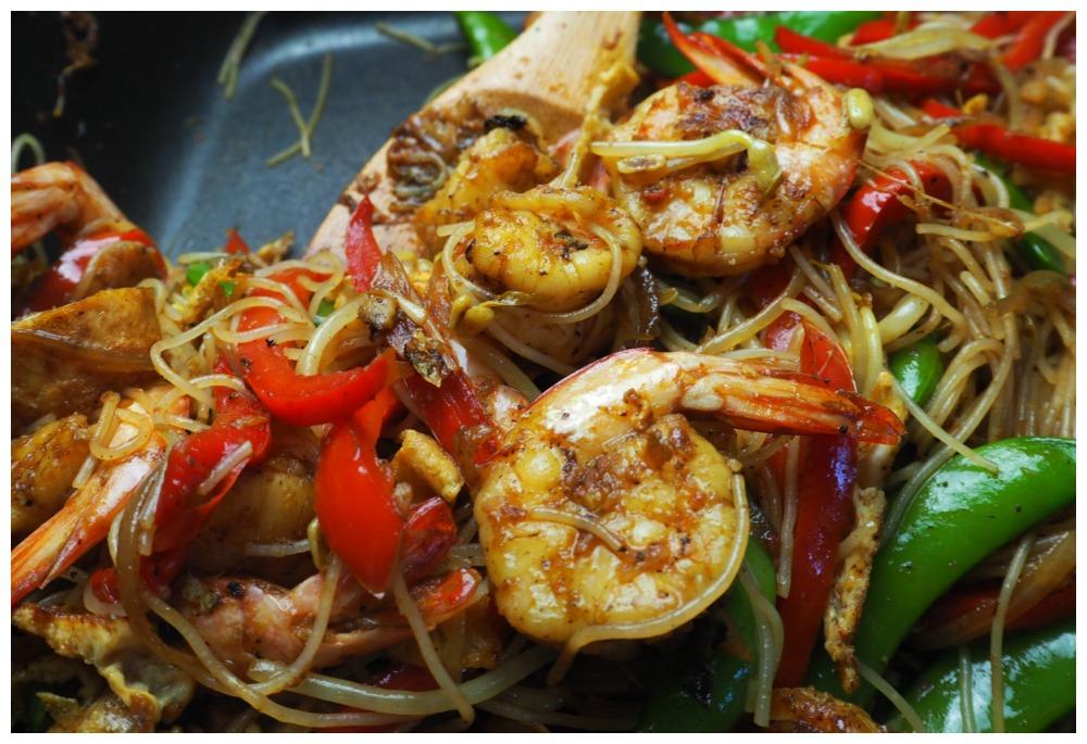 Singapore noodles 7