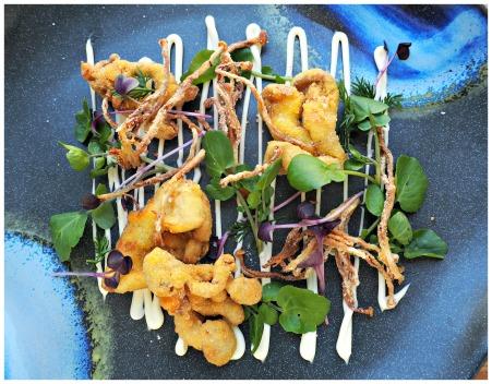 mushroom-fritters